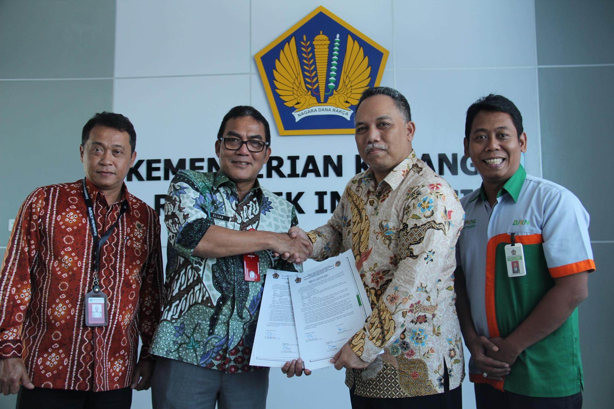 Percepat Penyelesaian Sertipikasi BMN,  KPKNL Ternate Kolaborasi dengan BPN Maluku Utara