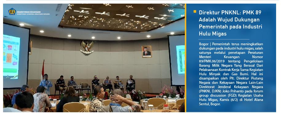 Direktur PNKNL: PMK 89 Adalah Wujud Dukungan Pemerintah pada Industri Hulu Migas