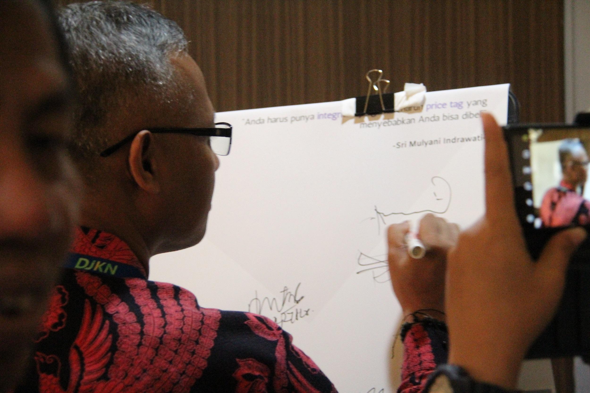 Penandatanganan Kontrak Kinerja Tahun 2020 pada KPKNL Semarang