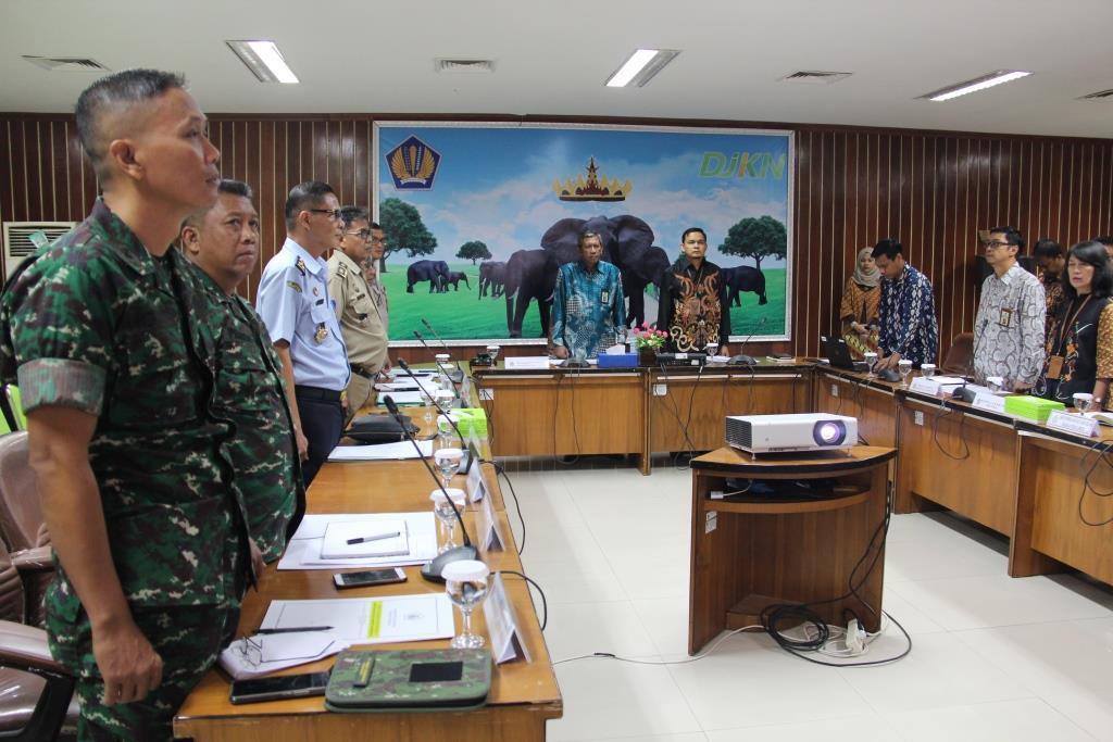 Tim Asistensi Daerah Wilayah V Bandar Lampung Bahas Pelaksanaan Penyelesaian ABMA/T Bandar Lampung dan Lampung Timur