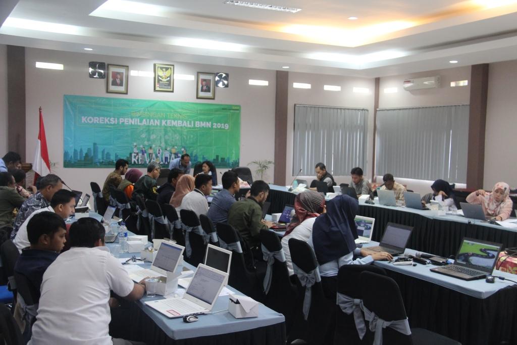 Percepat BAR Revaluasi BMN,  KPKNL Bogor Laksanakan Bimtek Koreksi Penilaian Kembali BMN Tahun 2019