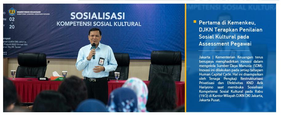 Pertama di Kemenkeu, DJKN Terapkan Penilaian Sosial Kultural pada Assessment Pegawai