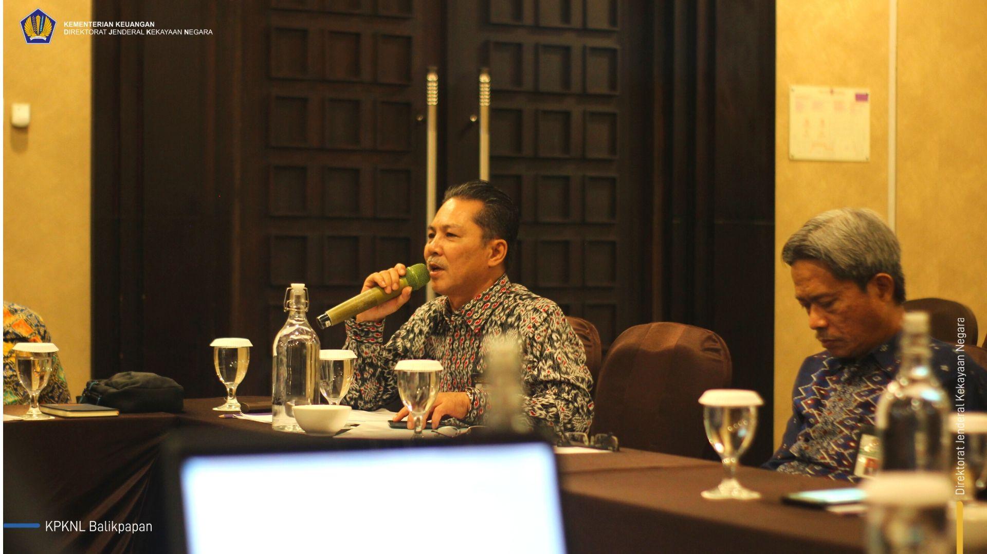 Maksimalkan Penerimaan via Piutang Negara, KPKNL Balikpapan Hadiri Rekon Data dengan Kemenkominfo