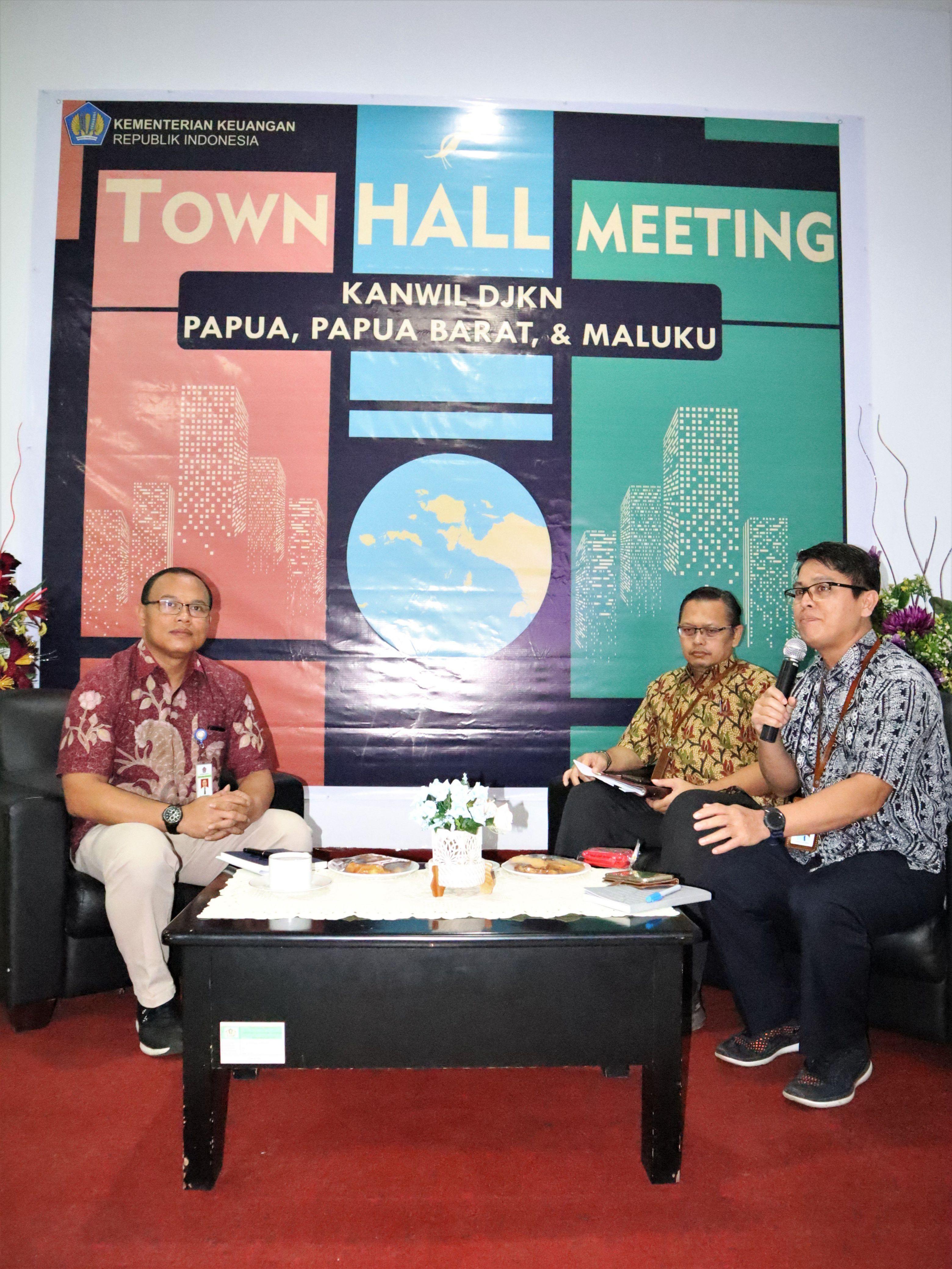 Town Hall Meeting Kanwil DJKN Papabaruku: Strategi Menghadapi Tantangan 2020 Dalam Rangka Mencapai Distinguished Asset Manager