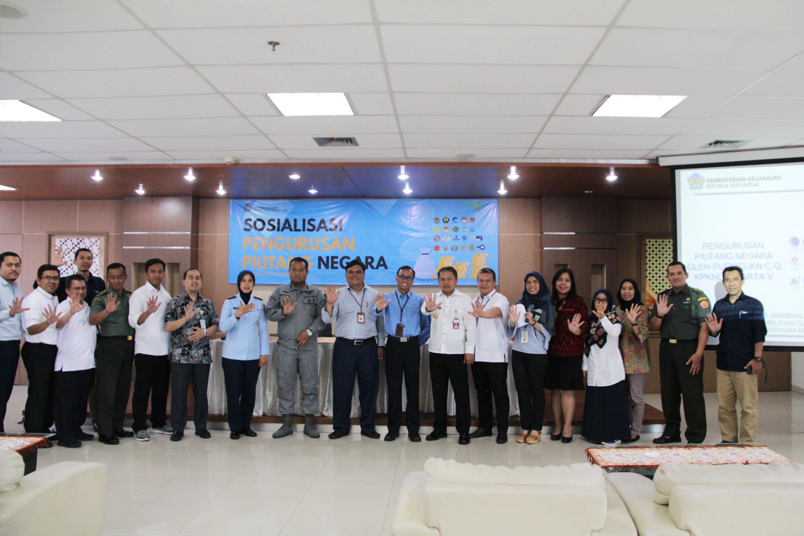 KPKNL Jakarta V Tingkatkan Kualitas Penyerahan Piutang Lewat Sosialisasi Pengurusan Piutang Negara