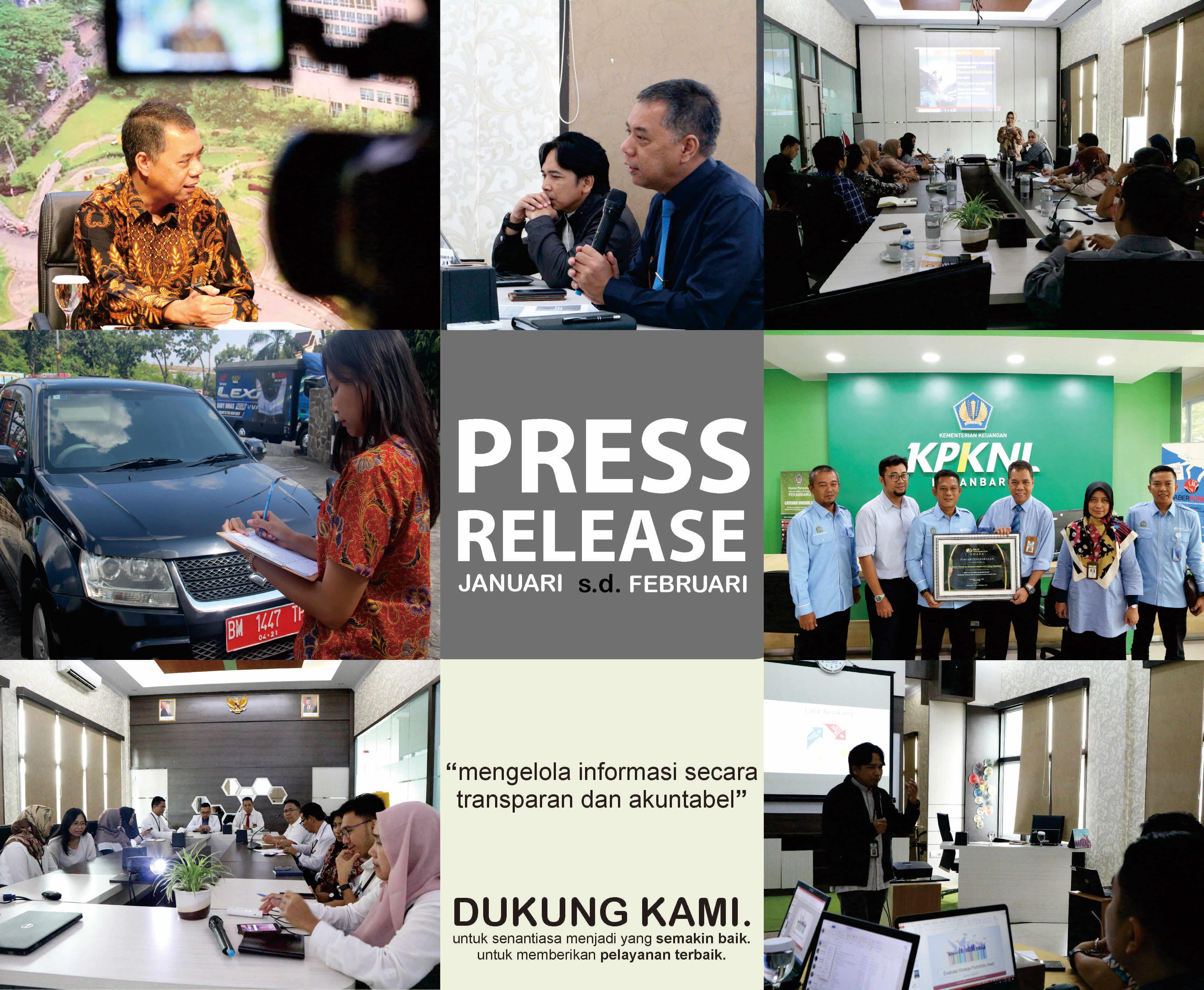 Press Release Capaian KPKNL Pekanbaru