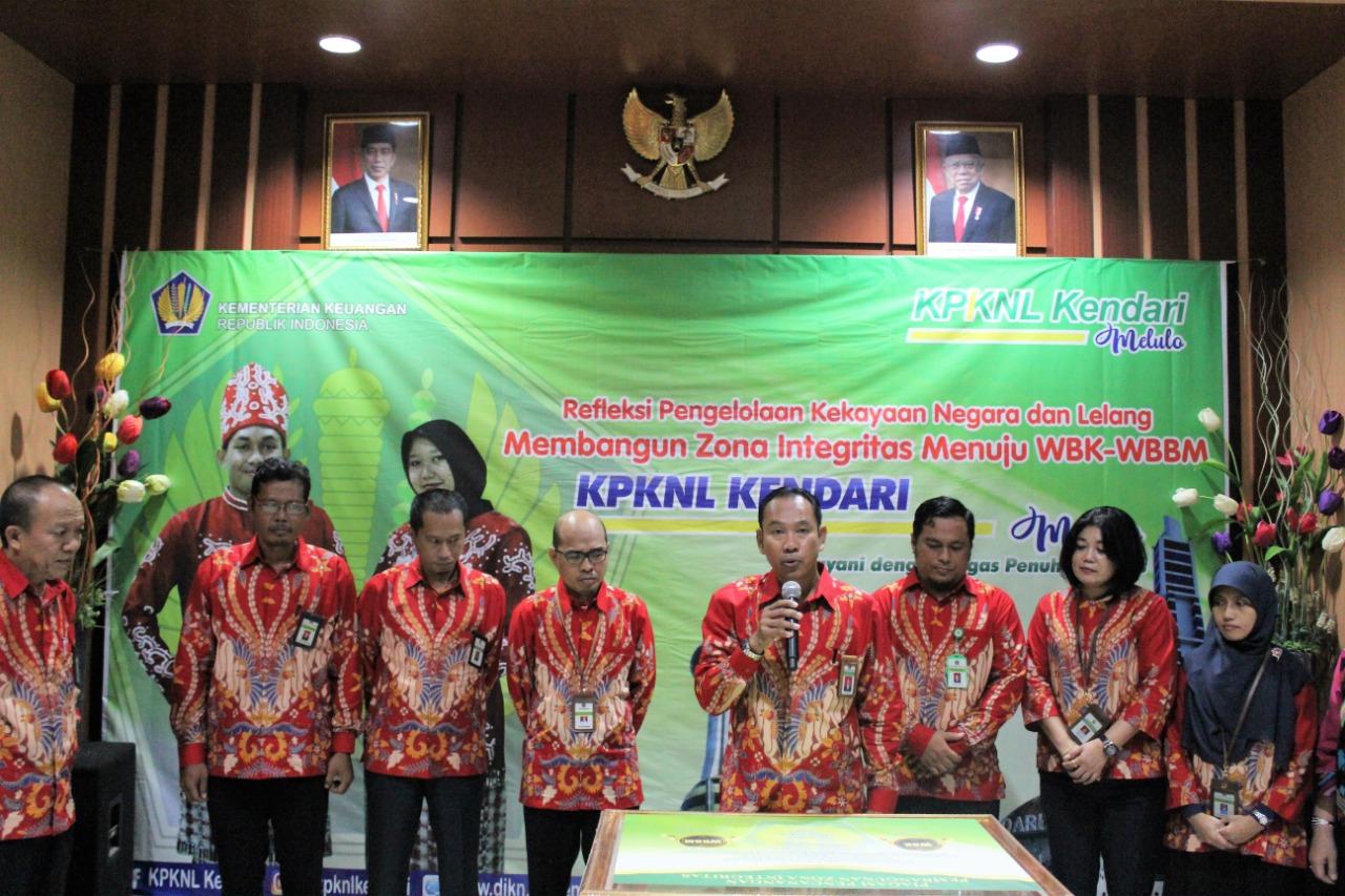 Kendari Melulo, Tanamkan Spirit ZI – WBK/WBBM Dalam Diri