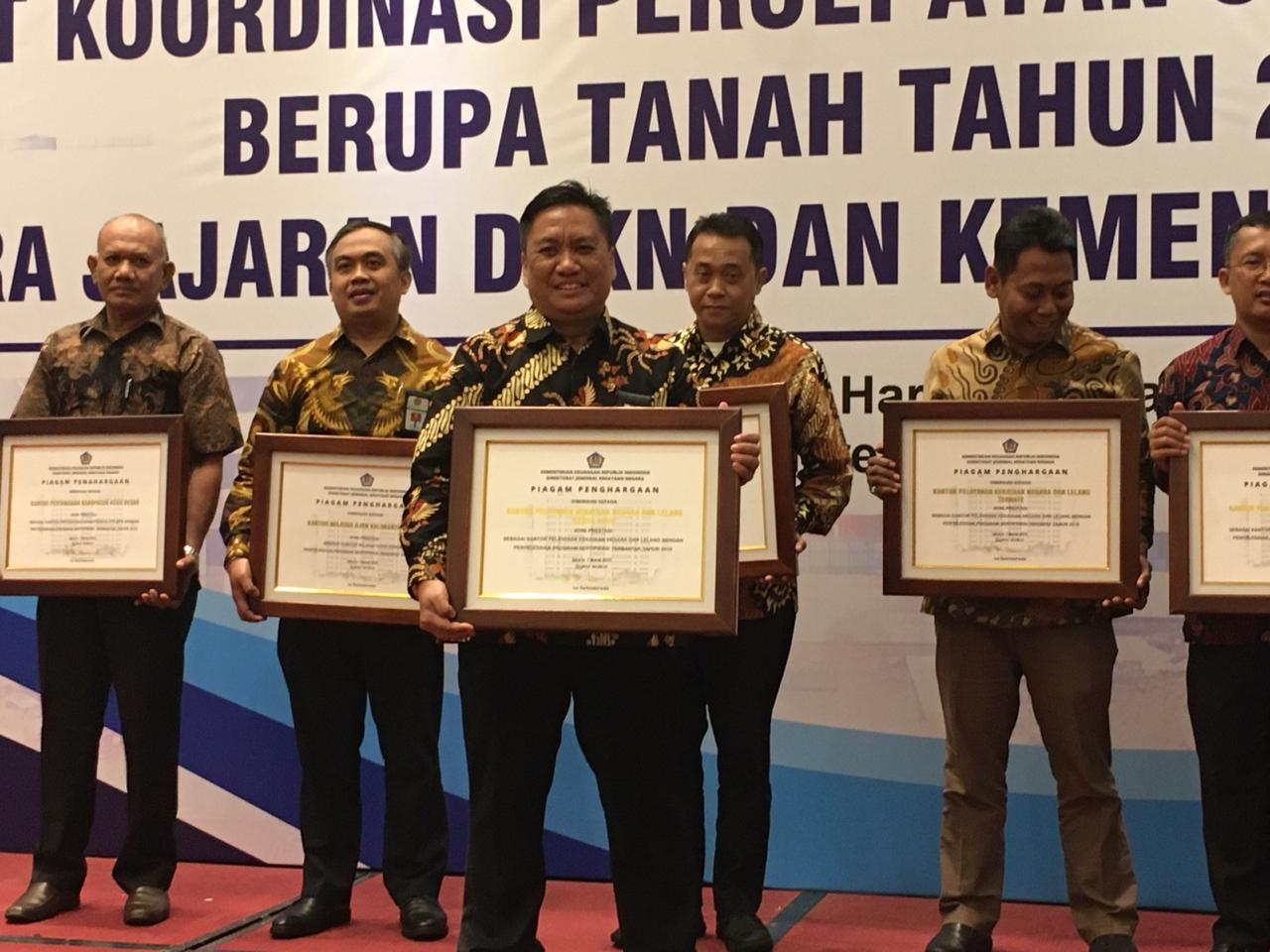 Torehan Prestasi KPKNL Banda Aceh Dalam Sertipikasi BMN Tahun 2019