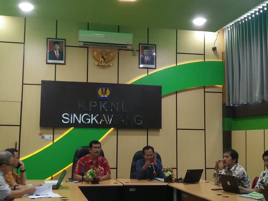 Evaluasi Pembangunan Zona Integritas Menuju WBK/WBBM dan Sosialisasi Kontrak Kinerja oleh Kanwil DJKN Kalimantan Barat