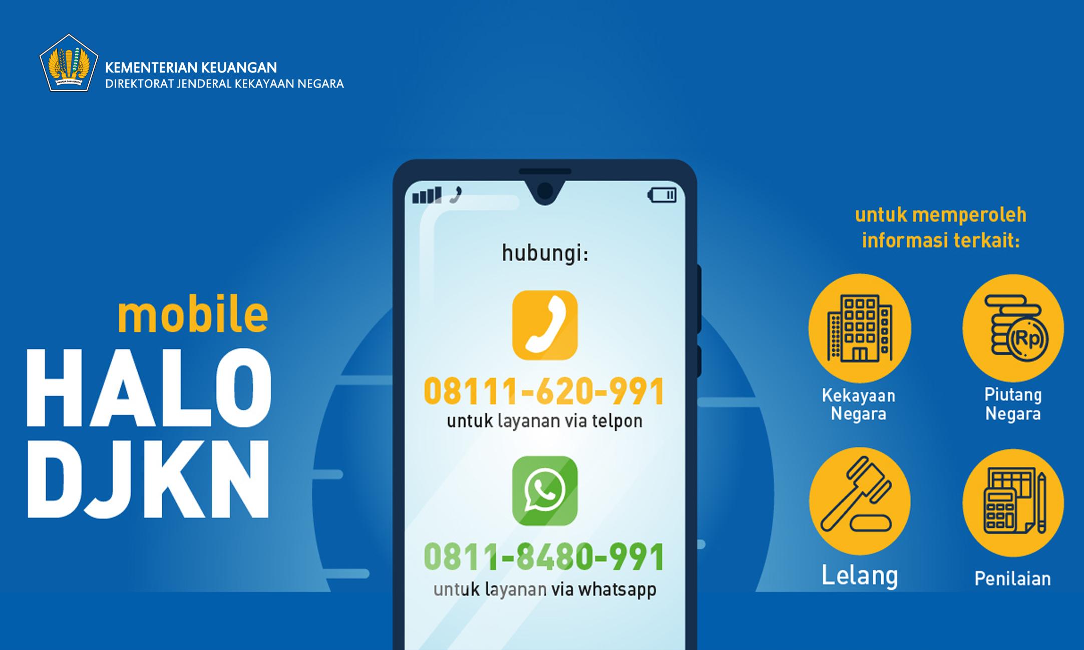 Layanan Mobile HALO DJKN