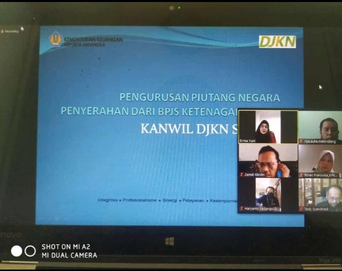 Monitoring dan Evaluasi Pengurusan Piutang Negara dari Penyerahan BPJS Ketenagakerjaan di Tengah Wabah Covid-19
