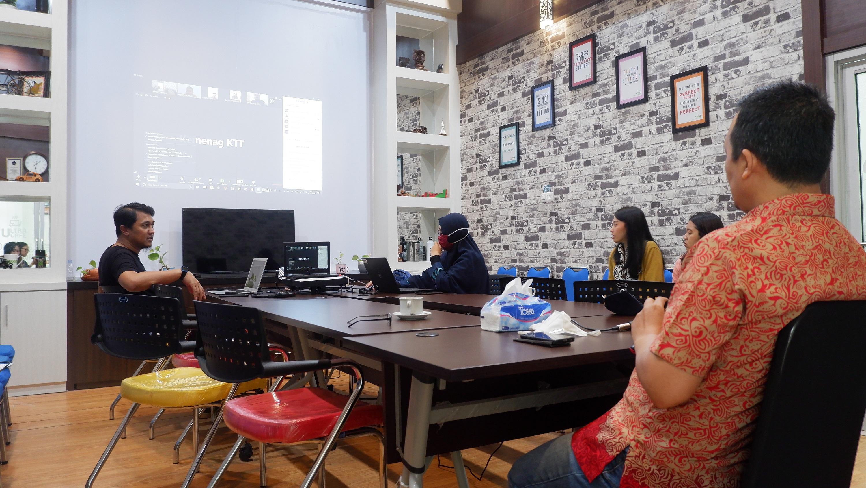 Video Conference Revaluasi BMN Tahun 2020