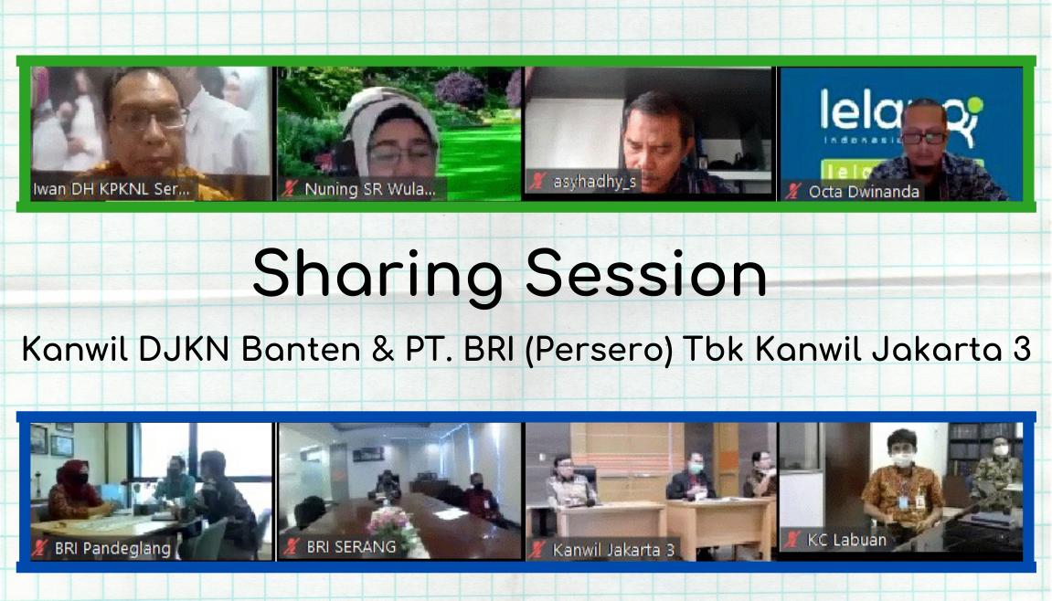 Sharing Session Bersama BRI Kanwil Jakarta 3 dan Kanwil DJKN Banten