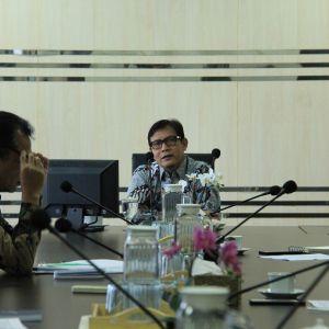 Tanggap COVID-19, KPKNL Tangerang II Gelar Rapat Terbatas