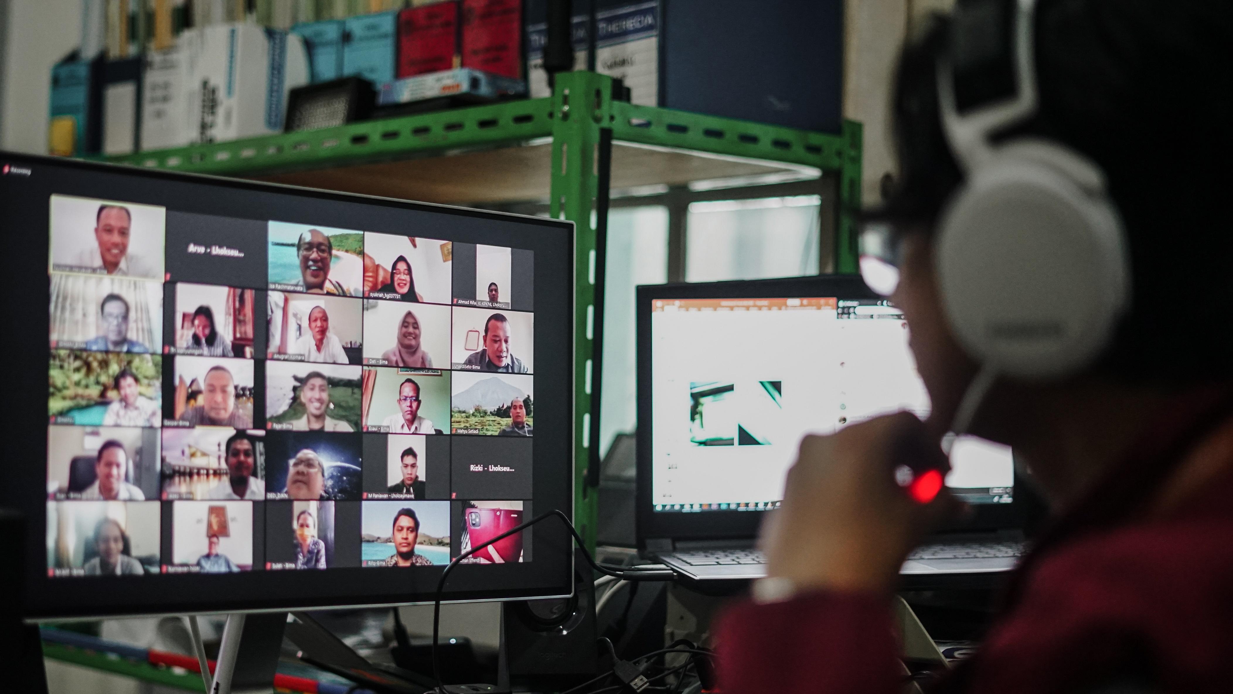 Virtual Visit oleh Dirjen KN bersama KPKNL Lhokseumawe dan KPKNL Bima