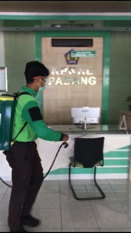 KPKNL Padang Siaga Cegah dan Lawan Covid 19