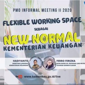 Flexible Working Space, Budaya Kerja Baru kemenkeu untuk Tingkatkan Produktivitas dan Kinerja Organisasi