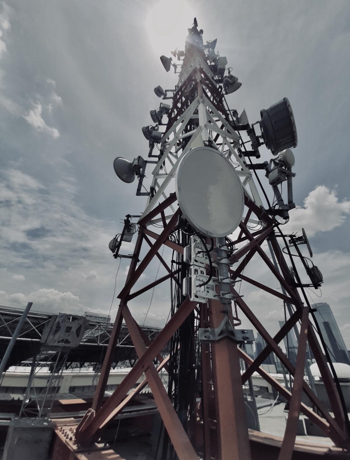 Menara BTS diatas Gedung pemerintah?