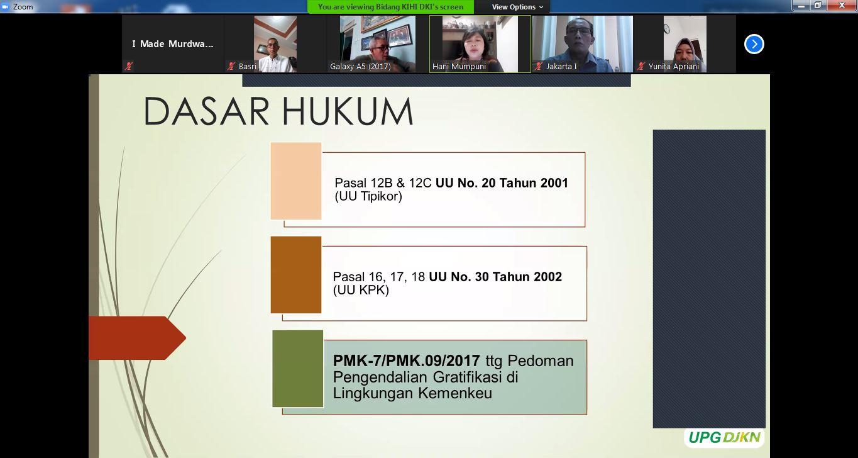 Internalisasi Penerapan Pengendalian Gratifikasi di Lingkungan Kanwil DJKN DKI Jakarta