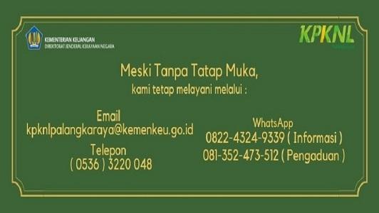 Layanan Informasi KPKNL Palangka Raya