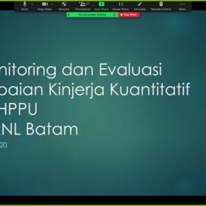 Monitoring dan Evaluasi Kinerja KPKNL Batam