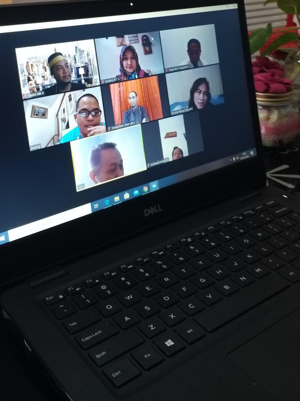 WFH dan produktivitas bekerja KPKNL Jakarta II