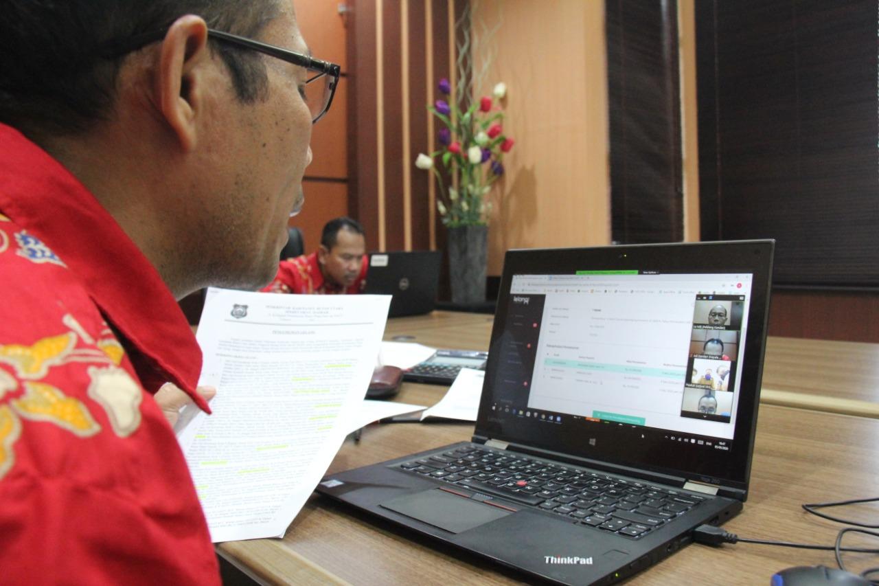 Lelang Online BMD via Telekonferensi