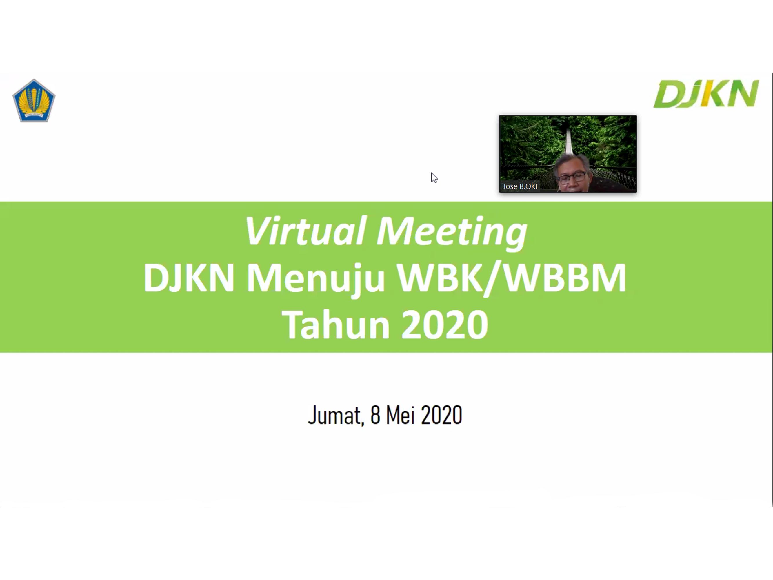 KPKNL Serang Ikuti Kegiatan Monitoring Pembangunan ZI WBK/WBBM Tahun 2020