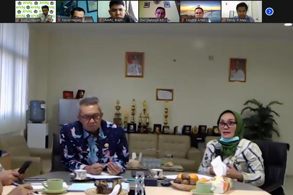 KPKNL Cirebon Jembatani Kemenkeu-Pemkot Cirebon Bahas Pengembangan Stadion Bima