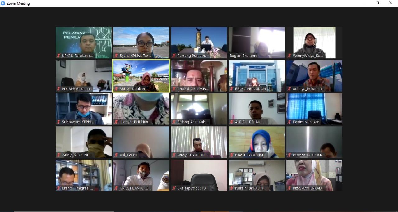 Sosialisasi : Penggunaan Aplikasi Lelang Indonesia dan Implementasi Fitur Permohonan Lelang Online