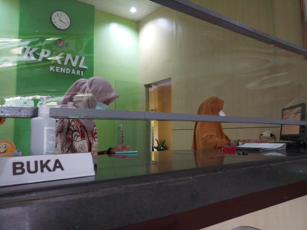Menuju Pelayanan Normal Dalam New Normal di KPKNL Kendari