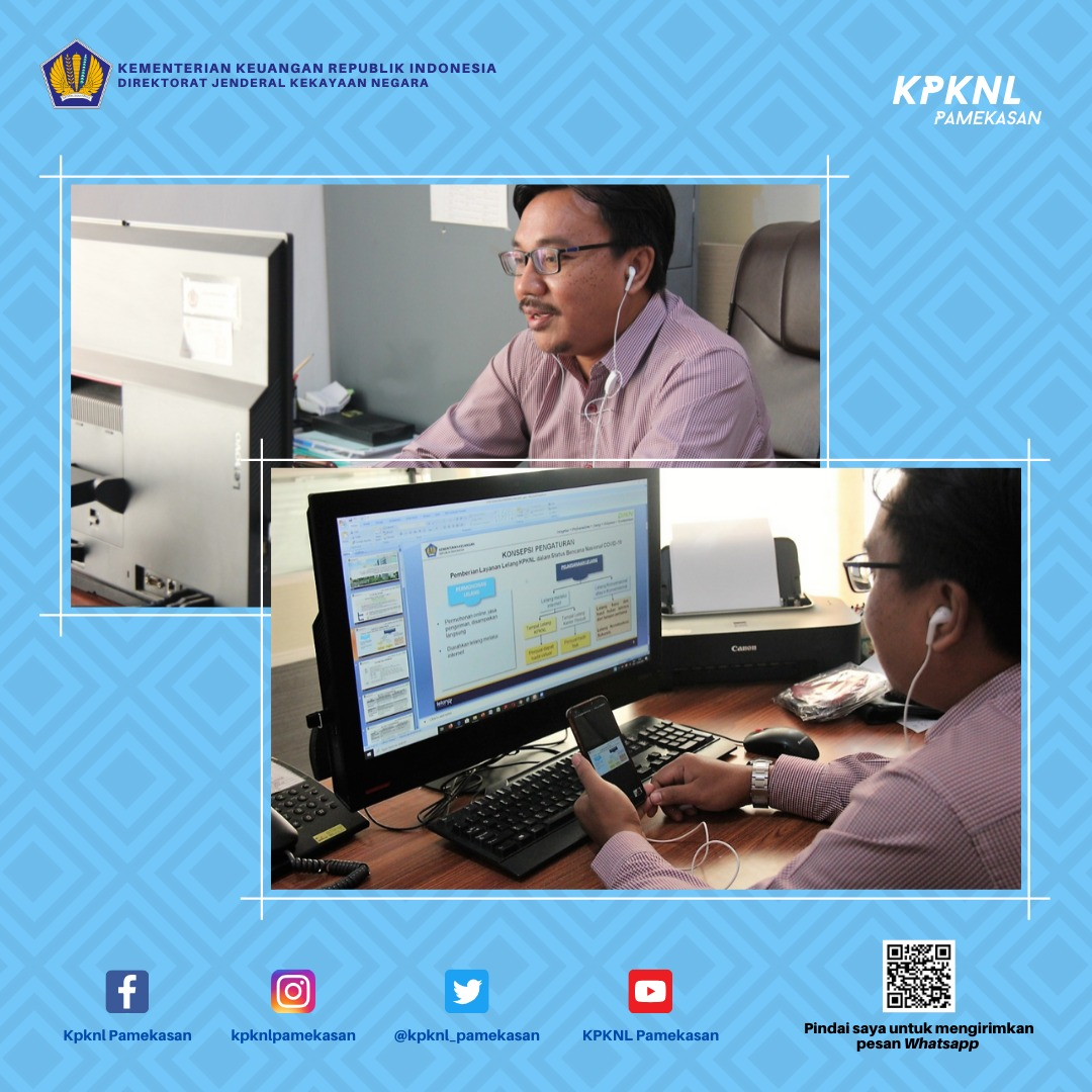Upgrade Informasi, KPKNL Pamekasan Sosialisasikan Perdirjen KN Nomor 5/KN/2020 kepada Stakeholder