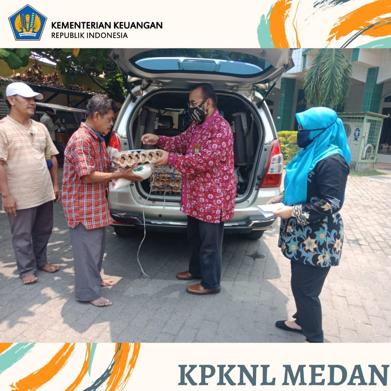 KPKNL Medan Peduli Dampak Covid-19