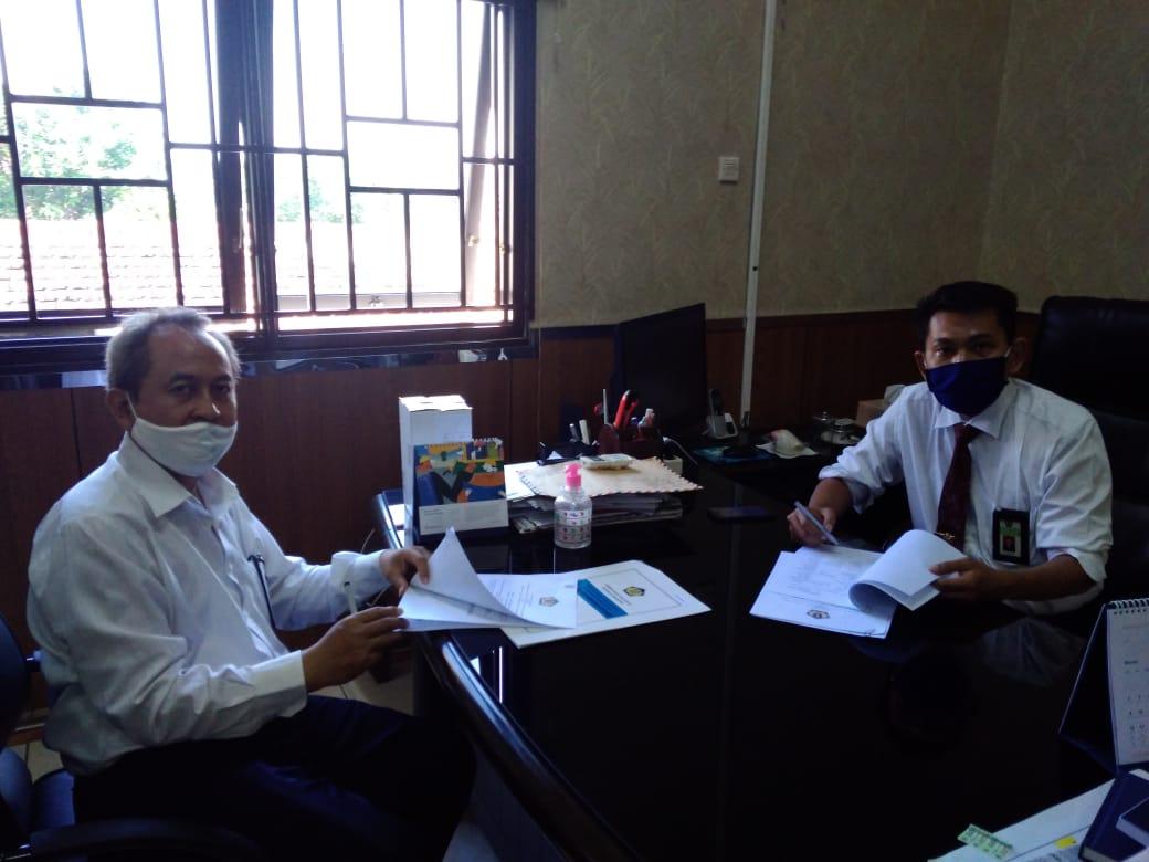 KPKNL Madiun Melaksanakan Evaluasi Program Bersama Antar Instansi Vertikal Kementerian Keuangan