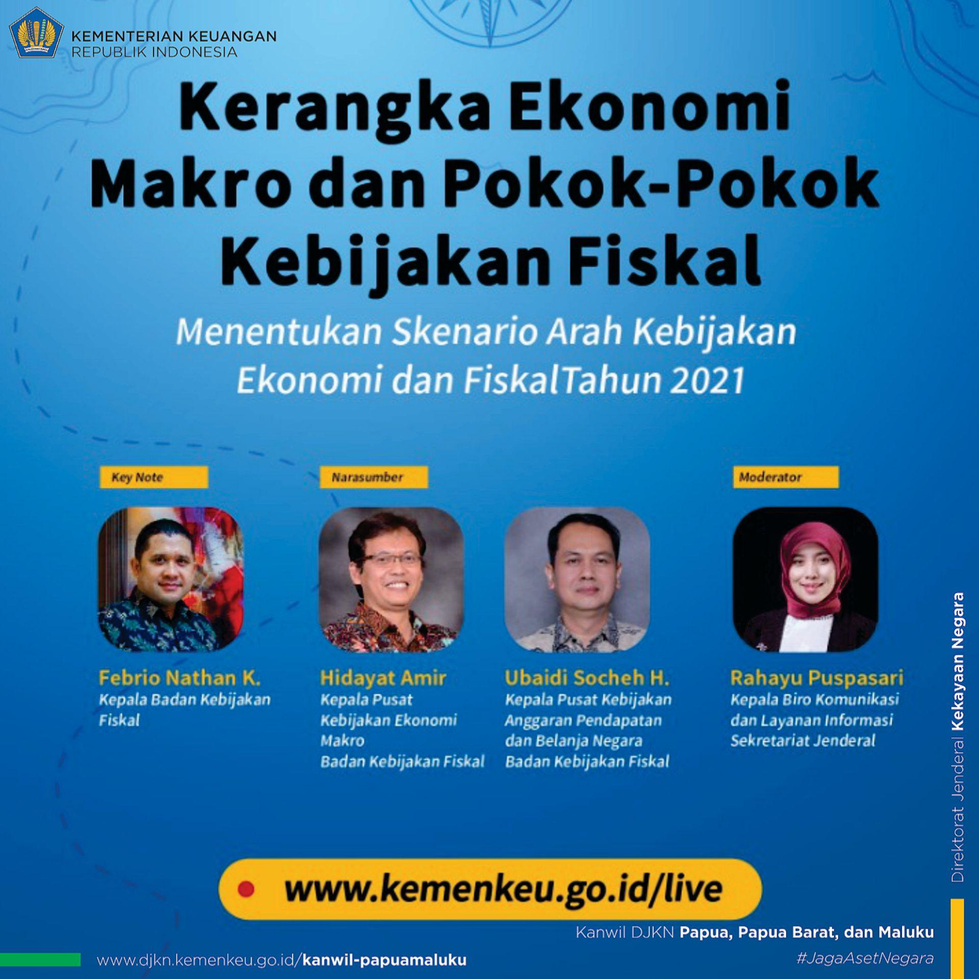 Kemenkeu Leaders Talk: Kerangka Ekonomi Makro dan Pokok - Pokok Kebijakan Fiskal