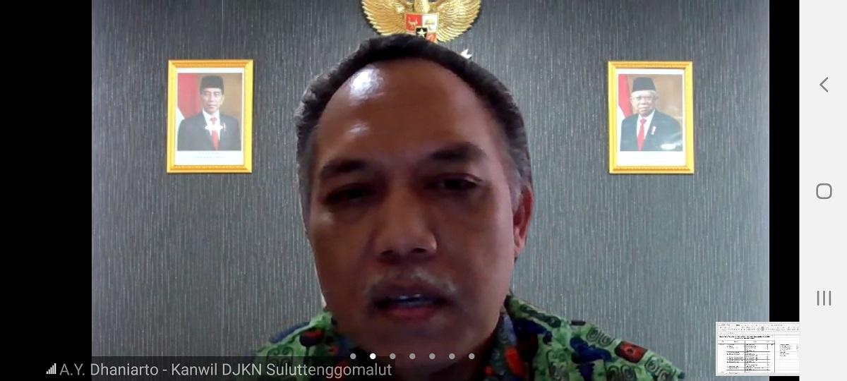 Kanwil DJKN Suluttenggomalut dan BPN Provinsi Sulut Tetap Yakin Target Sertifikasi Tercapai 100%