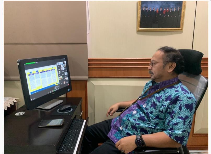 Hadapi New Normal, Kakanwil Sumut Gelar Sosialisasi SE-22/MK.1/2020 ke Unit Vertikal DJKN Sumut