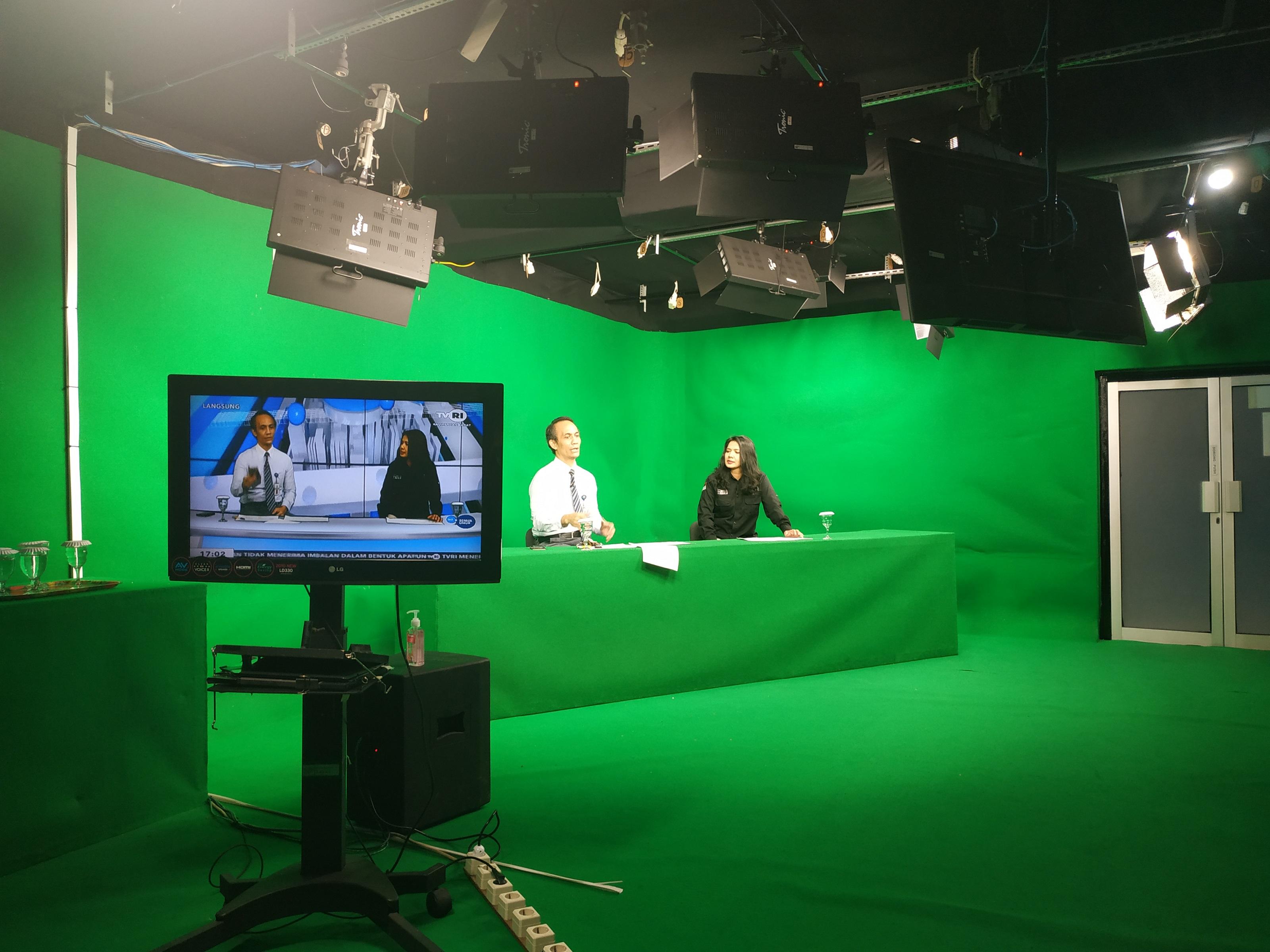 New Normal Kanwil DJKN Kalbar In Live TVRI Kalbar