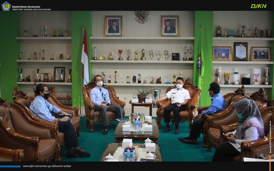 DJKN Kalbar Sinergi Dengan Walikota Pontianak Optimalkan BMN