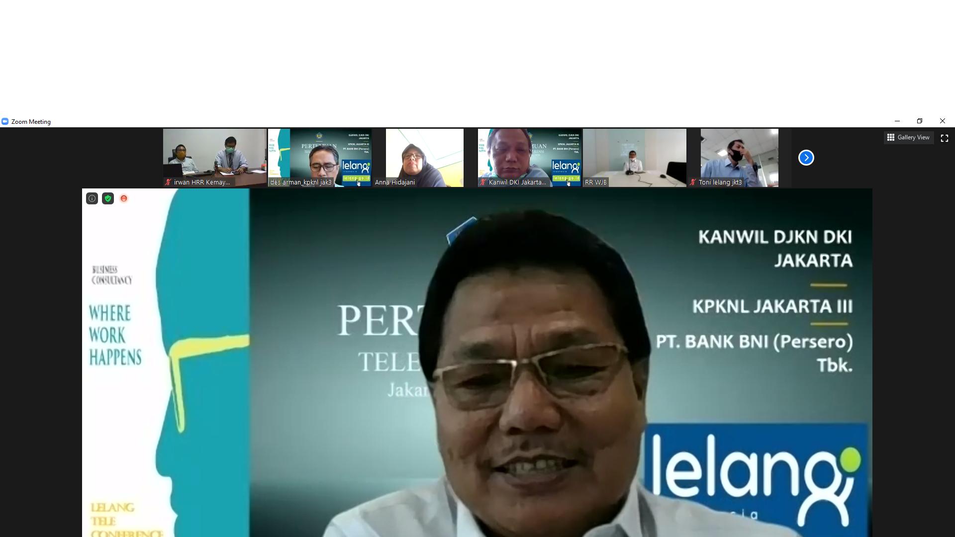 Gandeng Kanwil DJKN DKI Jakarta, KPKNL Jakarta III Bahas Lelang Hak Tanggungan Dengan PT.Bank BNI (Persero) Tbk