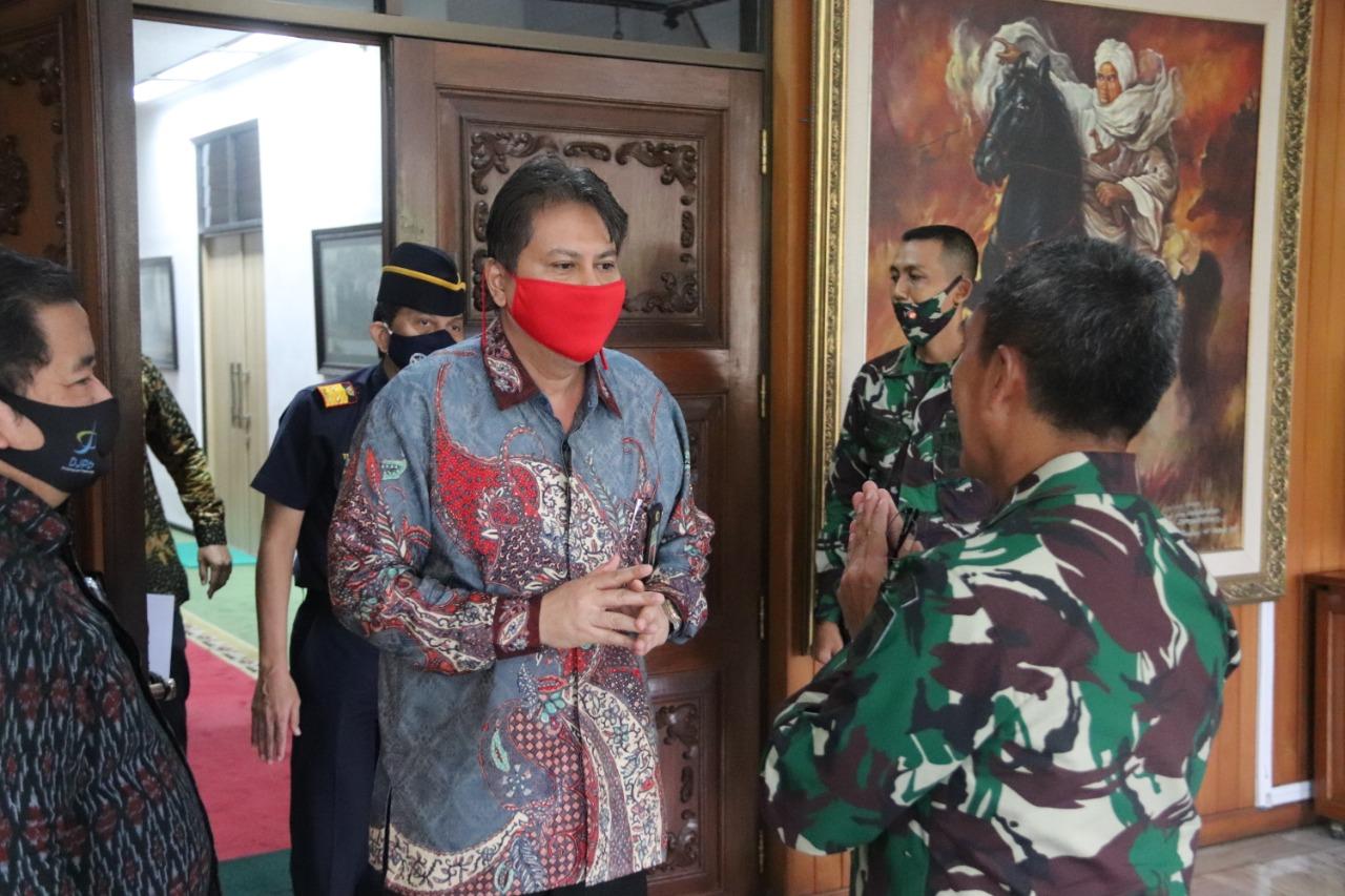 Jalin Sinergi, Kakanwil DJKN Jateng dan DIY Kunjungi Pangdam IV Diponegoro