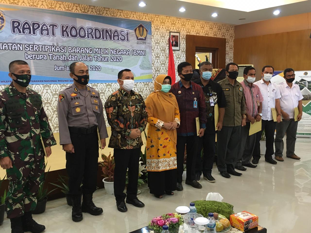 KPKNL Banda Aceh Kebut Capaian Sertipikasi BMN Tahun 2020