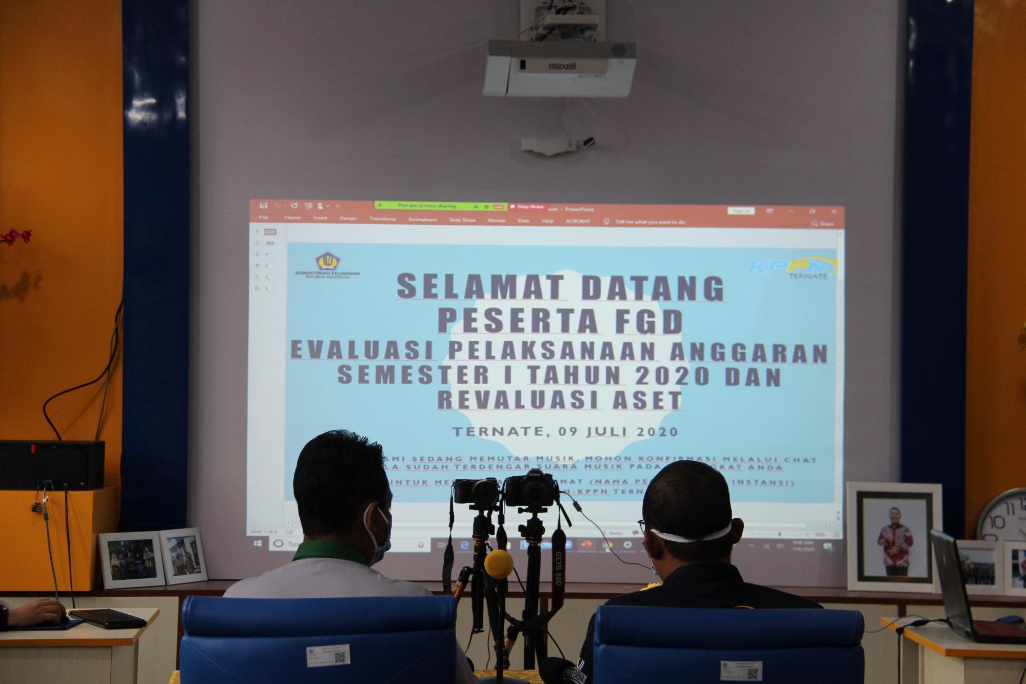 KPKNL Ternate dan KPPN Ternate Laksanakan FGD dengan Satuan Kerja