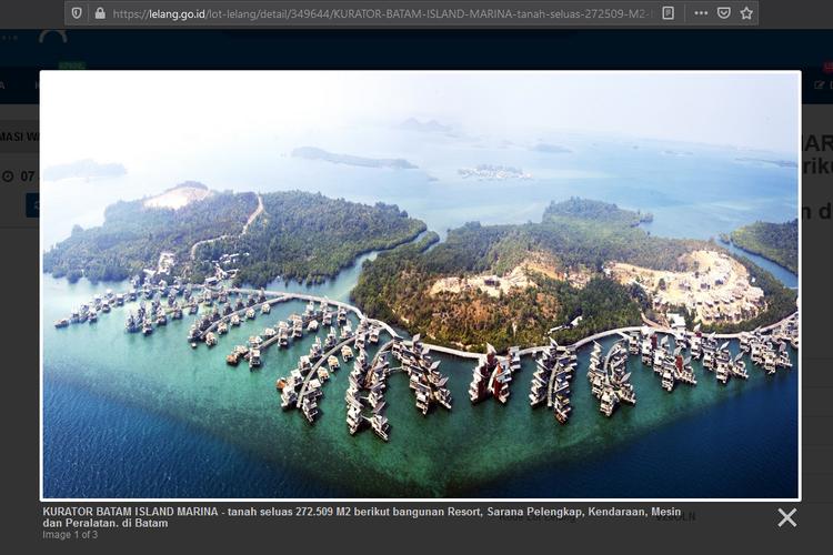 Kawasan Resor Mewah Batam Ini Dilelang Online Rp 950 Miliar