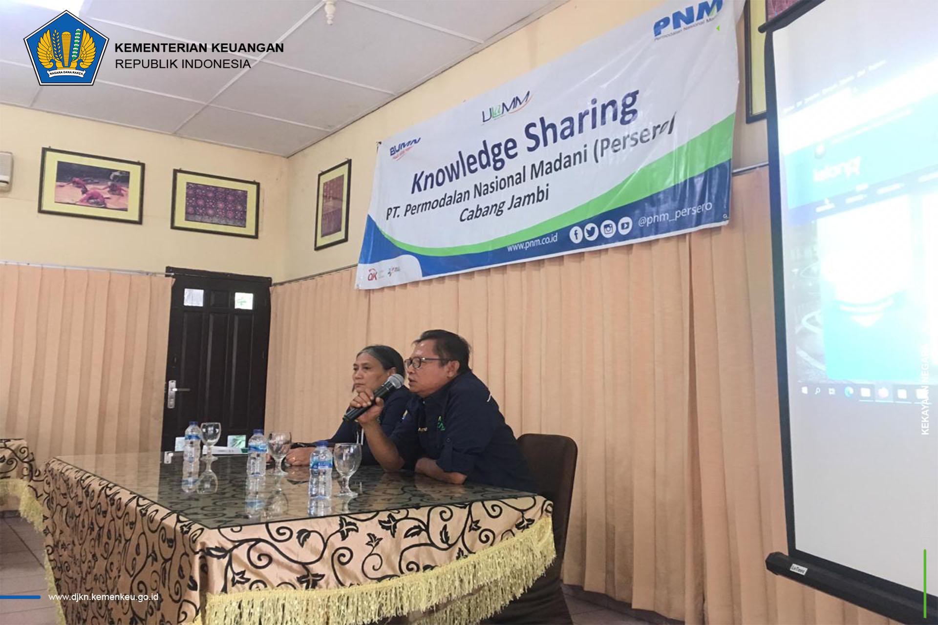 """Bersinergi dengan Stakeholder, KPKNL Jambi Laksanakan Knowledge Sharing """"Pengajuan Permohonan Lelang Secara Online"""""""