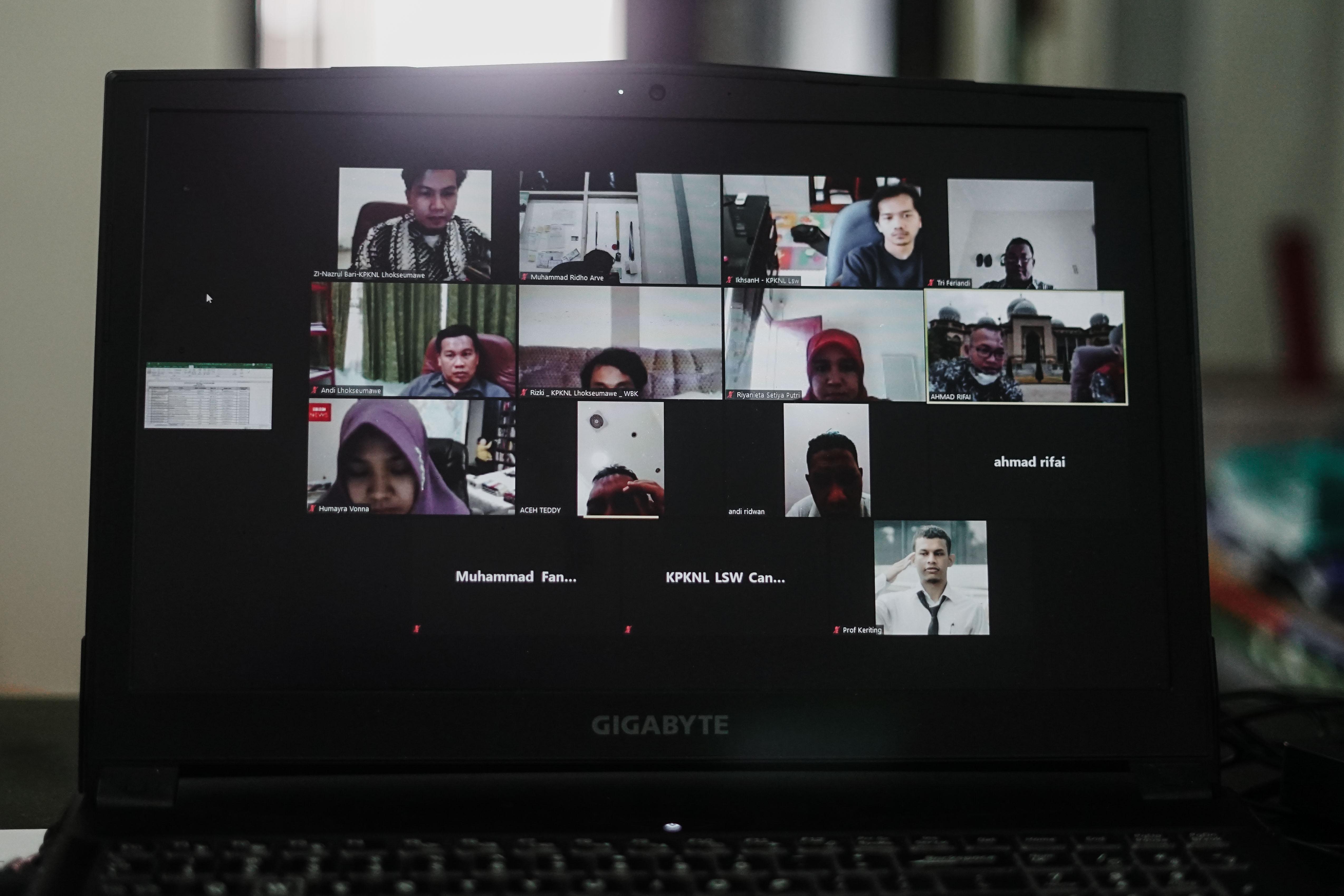 Rapat DKO T II : Teknologi Sosial Media Sebagai Alternatif Keterbatasan yang Diakibatkan oleh Pandemi