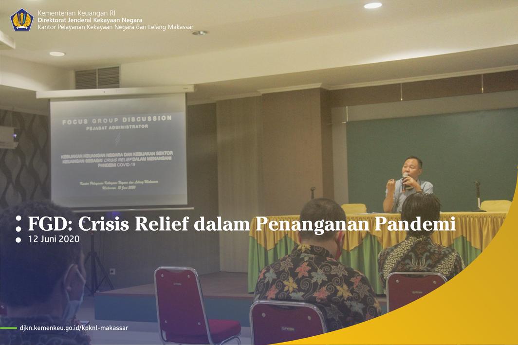 FGD Crisis Relief dalam Penanganan Pandemi