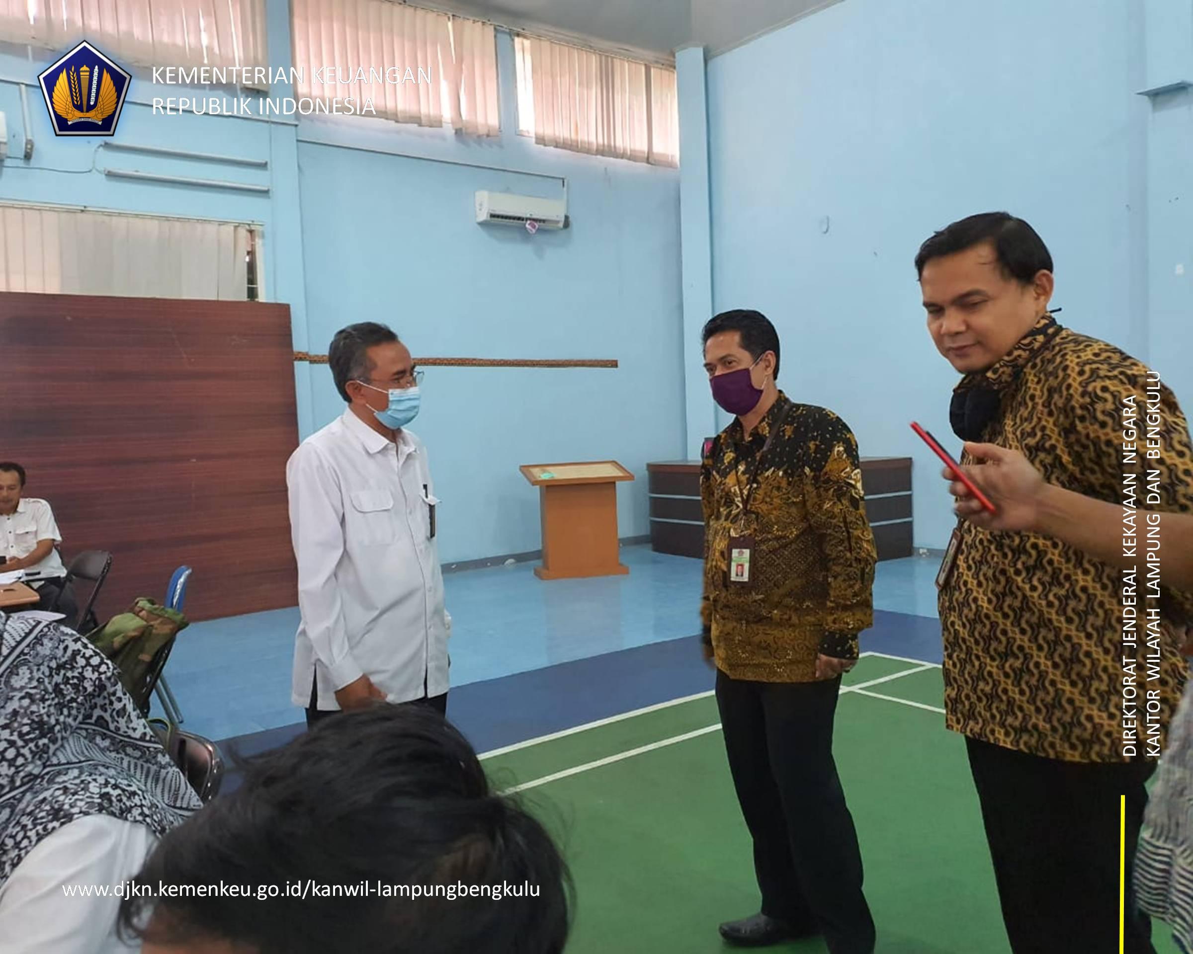 Kunjungan Kanwil DJKN Lamkulu Ke BBWS Mesuji Sekampung