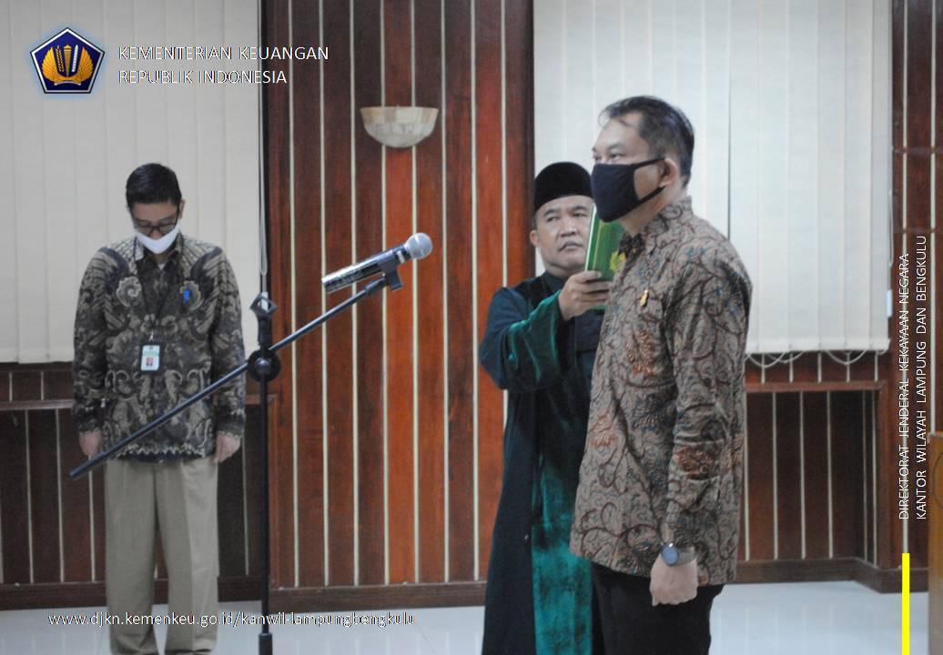 """Ketua PUPN Cabang Lampung: """"Pengurusan Piutang Negara Harus Tetap Dijalankan Dengan Efektif dan Efisien, serta Transparan dan Akuntabel"""