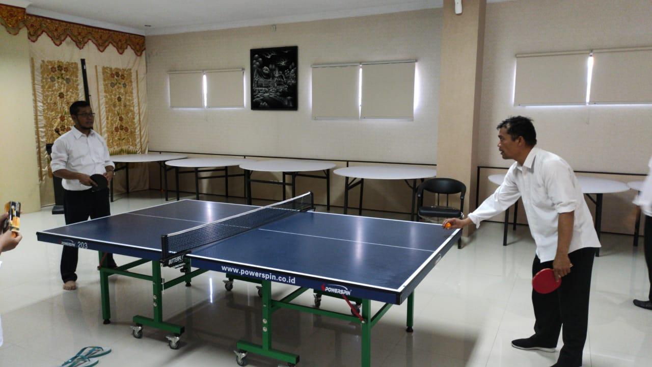 PNBP Cup, KPKNL Bukittinggi Laksanakan Olahraga Untuk Menjaga Kebugaran Tubuh